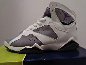 best cheap e7964 165d1 Details about Nike Air Jordan 7 Flint Retro Size US 11 White Purple Grey  304775-151