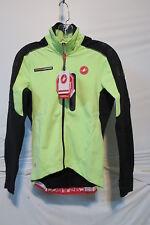 Castelli Trasparente Due Wind Long-Sleeve Jersey - Men s Small Green Flo d133ba6c8