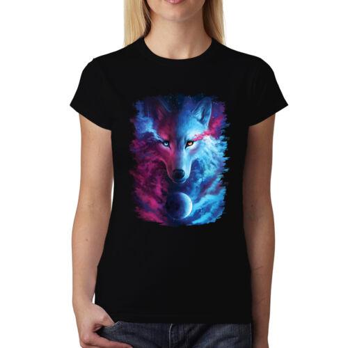 Weißer Wolf Husky Planet Damen T-shirt XS-3XL