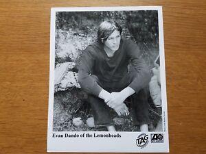 EVAN-DANDO-Lemonheads-8x10-BLACK-amp-WHITE-Press-Photo-Promo-1990-039-s
