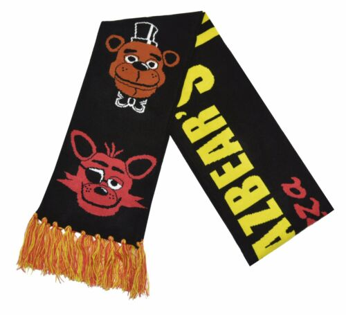Five Nights at Freddy/'s Knit Winter Scarf