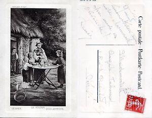CPA-Berget-Le-Gouter-Vesper-Good-Appetite-1912