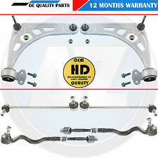 For BMW 318TI Front Suspension arms wishbones bushes track rods ends drop links