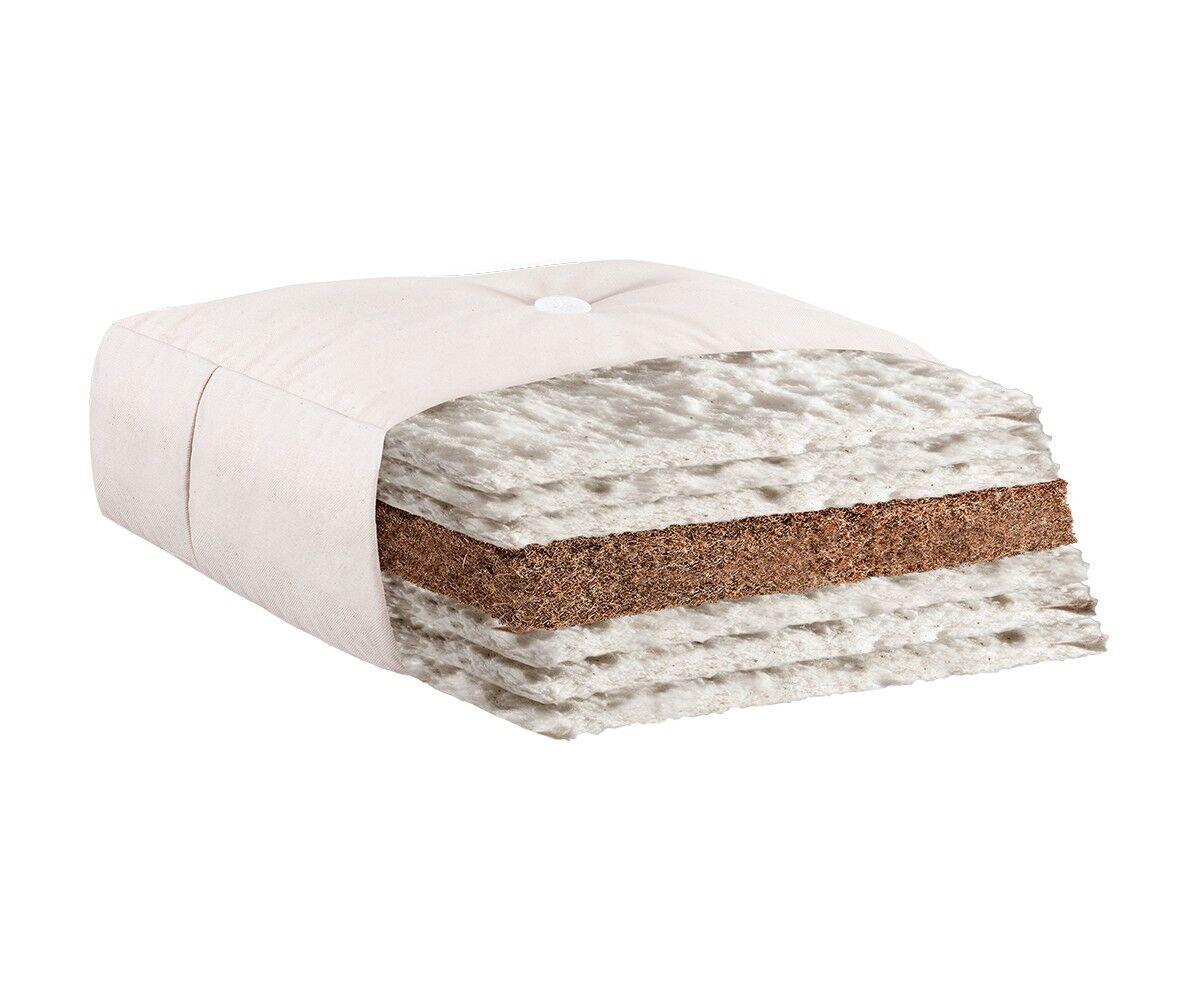 Futon Iwami Iwami Iwami Kokos natur 140 x 200 cm Baumwolle Matratze Futonmatratze NEU 46c3a4