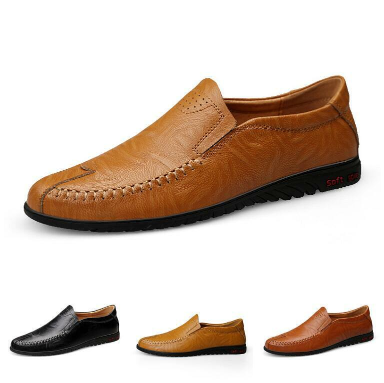 Casuals shoes Men Loafer Driving Low Cut Flats Fashion Leisure Breathable Trail