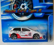 2006 Hot Wheels #133 ∞ HONDA CIVIC TYPE R ∞ WHITE PR5s -other tuners in my store