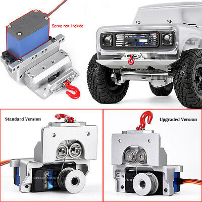 Aluminum GAX0136A Upgrade 25T Servo Winch Built-in Accessory For RC Crawler Car