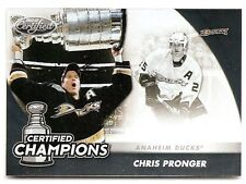 11/12 PANINI CERITIFED CHAMPIONS Chris Pronger #13