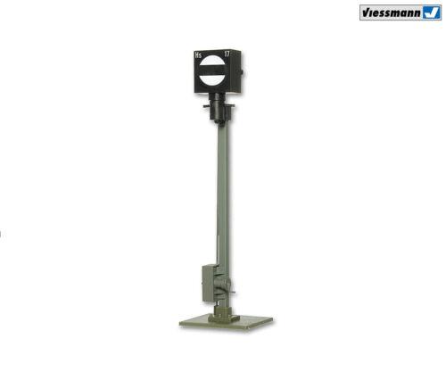 65 mm hoch NEU in OVP + Viessmann 4517 Form-Sperrsignal mit Flanschfuß