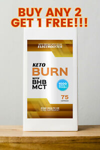 20 pill Trial pack Keto Diet slimming Weight loss supplement fat burn pure BHB