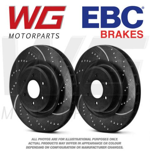 EBC GD Front Brake Discs 316mm for Subaru Legacy 3.0 245bhp 2003-2010 GD7408