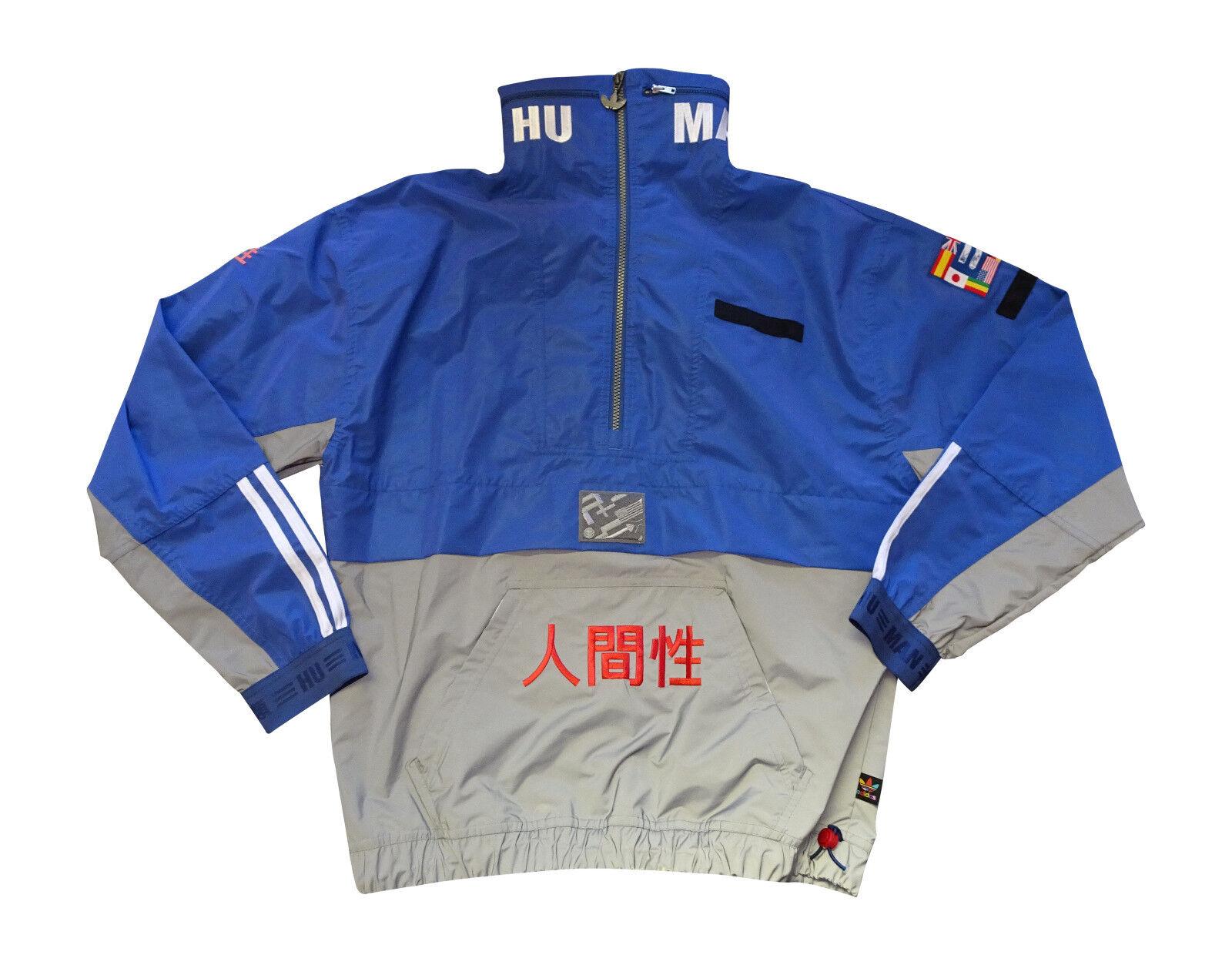 Mens Brand New Adidas Pharrell Williams Hu Race Athletic Fashion Jacket [BR3151]