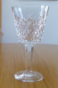 "5 7//8/"" Tall Waterford Crystal ALANA Claret Wine Glass"