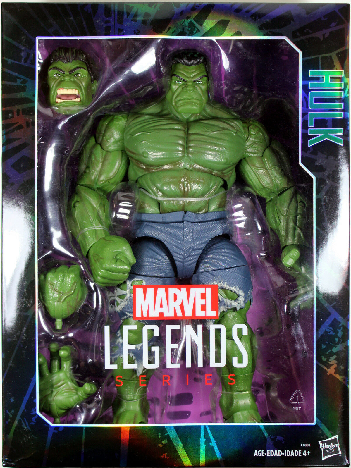 Marvel Legends  14.5  INCREDIBLE HULK ACTION FIGURE (2017)  Hasbro  HUGE TOY