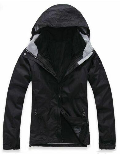 D06 Women Lady Black Hiking Camping Snow Winter Waterproof Jacket 6 8 10 12 14