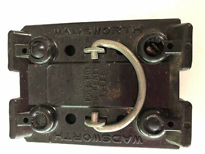 Wadsworth 30 Amp 30A Fuse Holder Pull Out Pullout Notched or Not Both Available