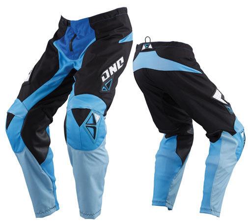NEW ONE INDUSTRIES CARBON  BLUE  ATV  MX BMX RACING PANTS  PANT size 30