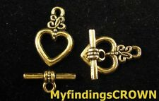 free ship 105 sets bronze plated cute clasp 32x7`21x21mm #1989