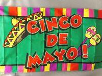 Cinco De Mayo 3x5' Flag Celebrating Cinco De Mayo
