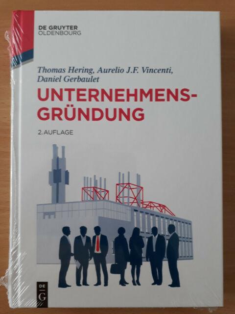 Unternehmensgründung, neues Buch, eingeschweißt, Hering + Vicenti, 2. Aufl.