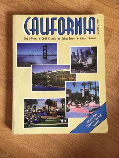 CALIFORNIA 2nd Edition 1997 Paperback Book By Peters Lantis Steiner Karinen