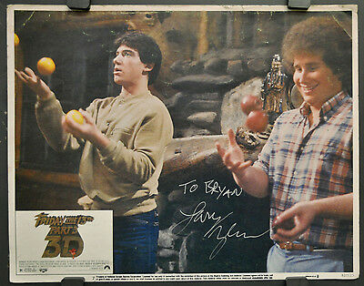 FRIDAY THE 13TH PART III 1982 ORIG 11X14  LOBBY CARD SIGNED BY LARRY ZERNER