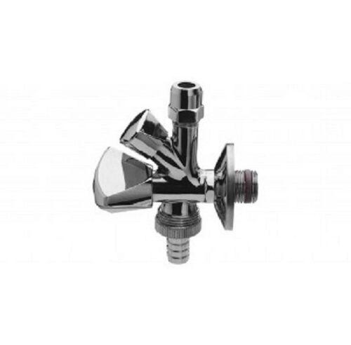 """Wasseranschluß Wasch /& Spülmaschine Kombiventil Eckventil 3//8/"""" x 10mm Nr.4041 f"""