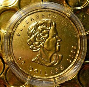 2009 Canada Maple Leaf .999 fine gold 1 oz. bullion $50. Coin RCM Mint