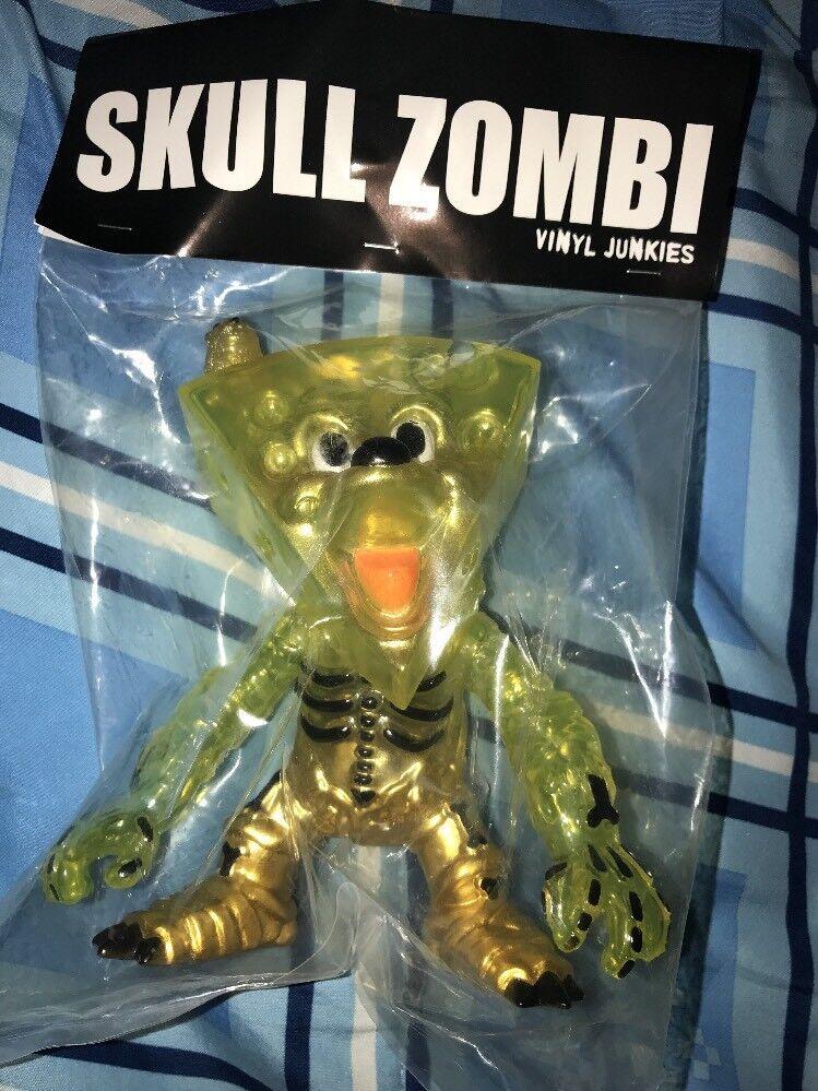 2007 Vinyl Junkies Skull Zombi Vinyl Sofubi Toy Japan Complete