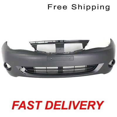 Primed Front Bumper Cover Manual//Auto Transmission Fits Nissan Versa NI1000284