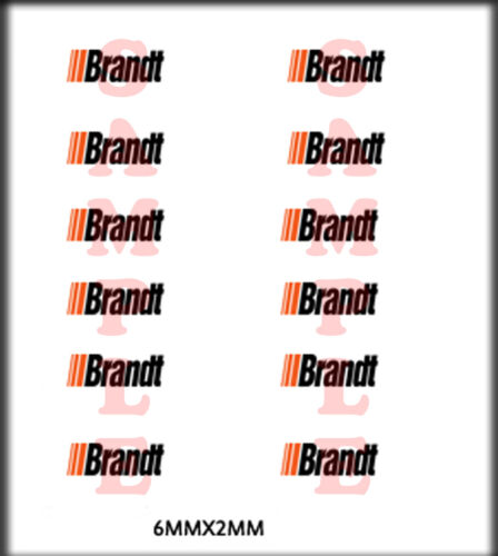 RIVER POINT STATION RSP BOLEY 1//87 HO SCALE VEHICLE DOOR DECALS BRANDT