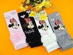 Nina-Bebes-Leggings-Minnie-Mouse-Blanco-Gris-Negro