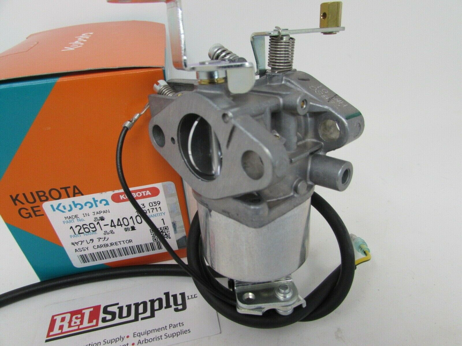 Carburetor Section Parts Diagram And Parts List For Kubota Riding