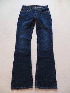 Levi-039-s-529-Bootcut-Jeans-Hose-W-28-L-34-TOP-Dark-washed-Indigo-Denim-RAR