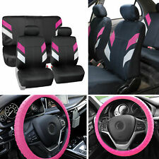 Neoprene Car Seat Covers For Auto Car Pink With Nibs Silicone Steering Cover Fits Jeep Cherokee