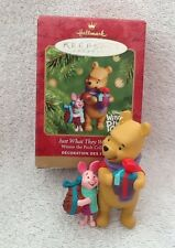 Hallmark Keepsake Ornament Winnie The Pooh Just What They Wanted Piglet Holiday