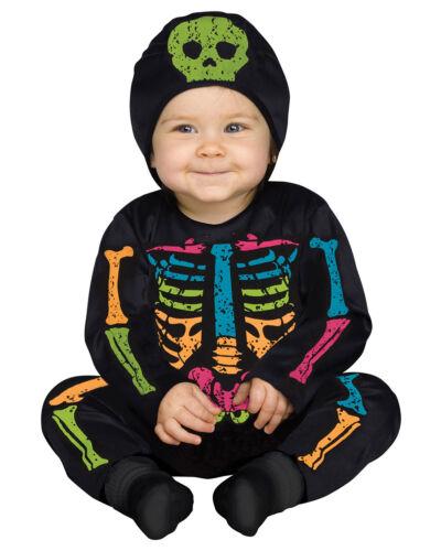 Morris Costumes Toddler Baby Skeletons Bone Halloween Costume 6-12 M FW115321CS