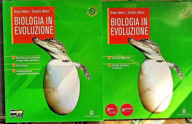 BIOLOGIA IN EVOLUZIONE CONFEZIONE AB + CDE senza Cd - ALTERS & ALTERS-LE MONNIER