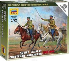 ZVEZDA 6161 SOVIET CAVALRY 1935-1942 WWII SCALE MODEL KIT 1/72 NEW