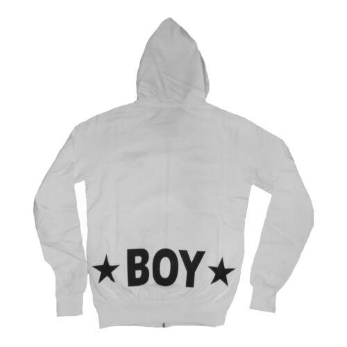 Felpina Boy Lato Tasche Zip Giubbino Sx E Stampa Taglia S London Pp Retro 4rHwqOWE4