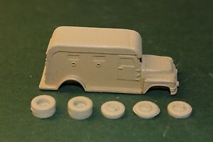 HO-SCALE-TRUCK-1950-039-s-ARMORED-TRUCK