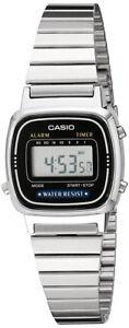 Casio-Women-039-s-Digital-Silver-Toned-Stainless-Steel-Watch-LA670WA-1