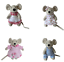 Patchwork Mouse House by Powell Craft Mice Choice   Cute Gift   FAST DISPATCH!