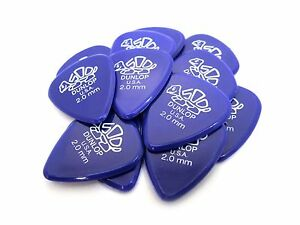 Dunlop-Guitar-Picks-Delrin-500-12-Pack-2-0mm-Extra-Heavy