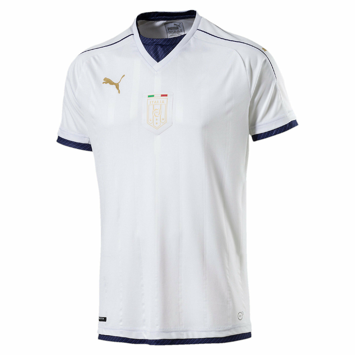 Puma  - Italia  2016 Tribute DryCell Away Soccer Jersey Weiß / Navy / Gold