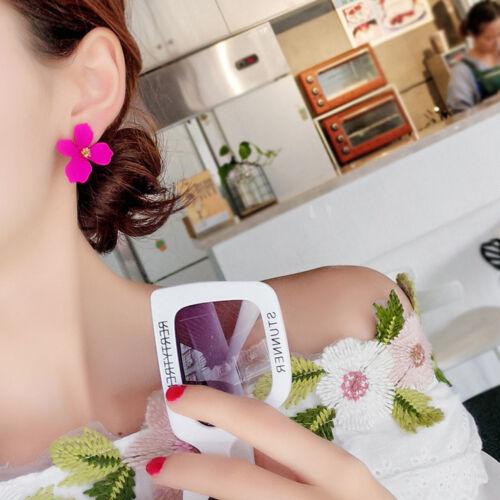 Fashion Ear Stud Personality Temperament Flower Ear Stud Earrings Jewelry 2019