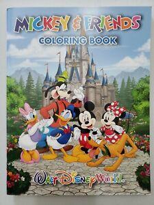 Walt Disney World Coloring Book Magic Kingdom Hollywood Studios Princess 69 Page Ebay