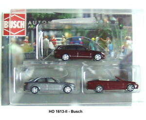 BUSCH-HO-1613-02-mercedes-set-3-teilig-3-Various-Colours-NEW-ORIGINAL