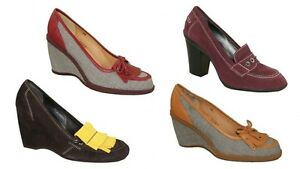 HOGAN Tacchi Dcollet scarpe zeppe scarpe scarpe donna vendita NUOVO