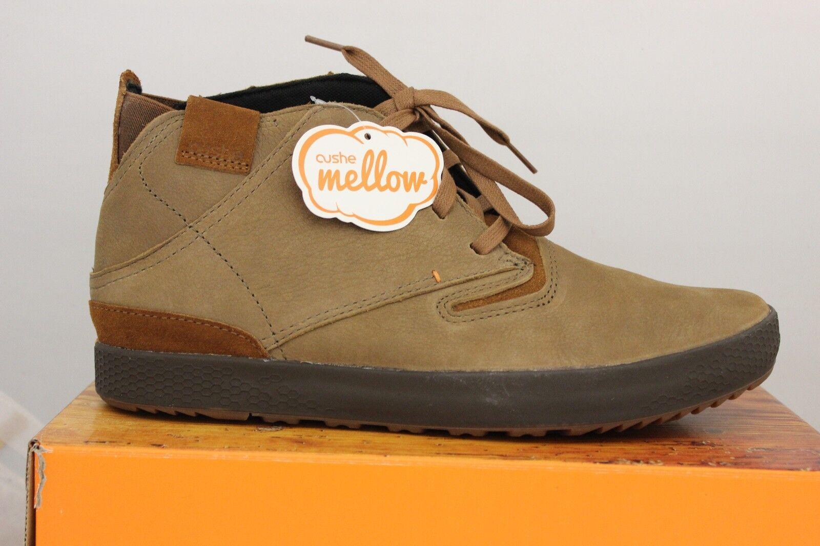 Hombre Cushe botas Pdx Cuero UM01592 Marrón Nuevo
